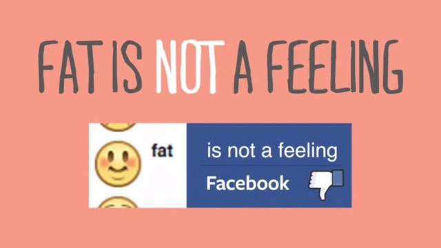 Facebook rimuove l emoticon con il faccino rotondo che appare quando si digita Mi sento grasso